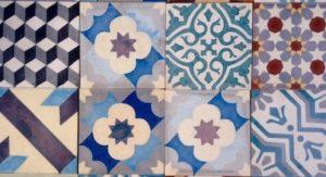 Carreaux de ciment du Maroc