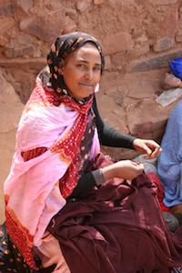 marchande mauritanienne