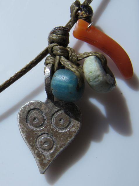 collier argent maroc