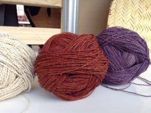 Fibre de ficus teinté pour sac Mochila de la Siera Nevada