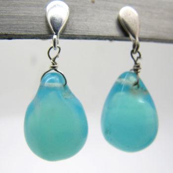 Boucles-oreille-goutte-turquoise