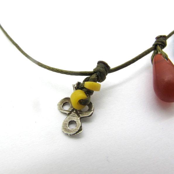 bracelet verre boheme argent maroc serpentine mauritanie