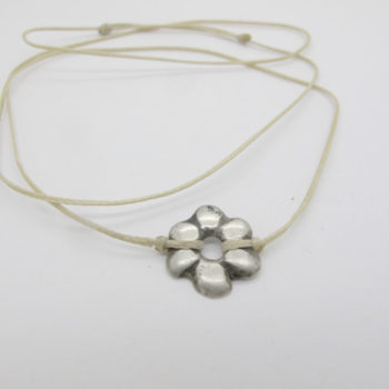 grigri fleur argent maroc