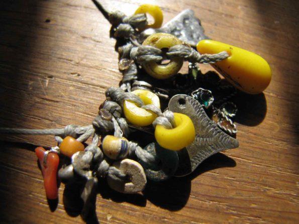 argent berbere corail grigri